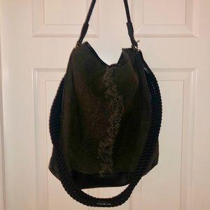 Free people boho fringe bag